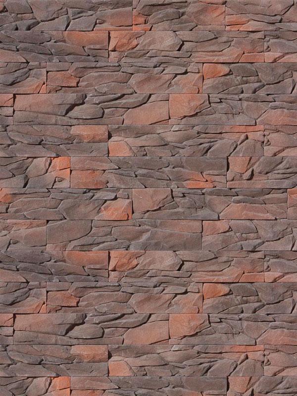 Искусственный камень Угольный пласт 044