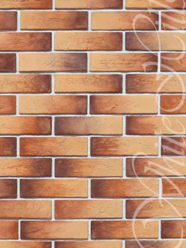 Декоративная плитка Терамо Брик II 364-40