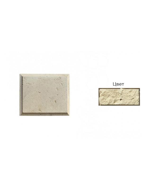 Рустовый камень White Hills 852-10 бежевый, 300*250*21-40 мм