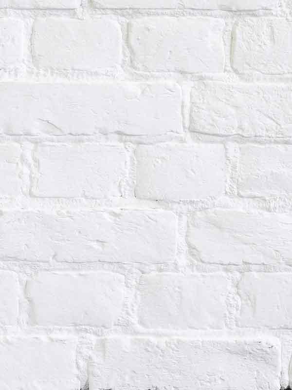Гипсовый кирпич в стиле Loft Белый