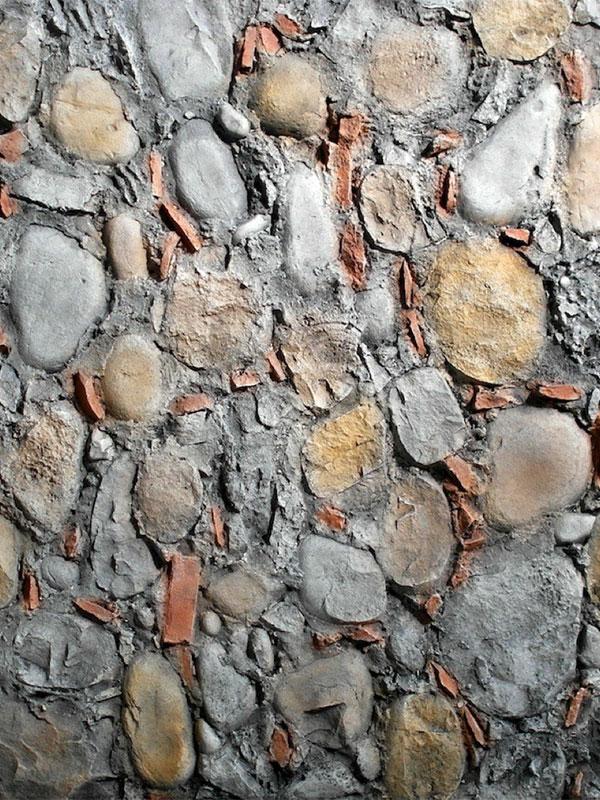 Стеновая панель под камень Dark Andes