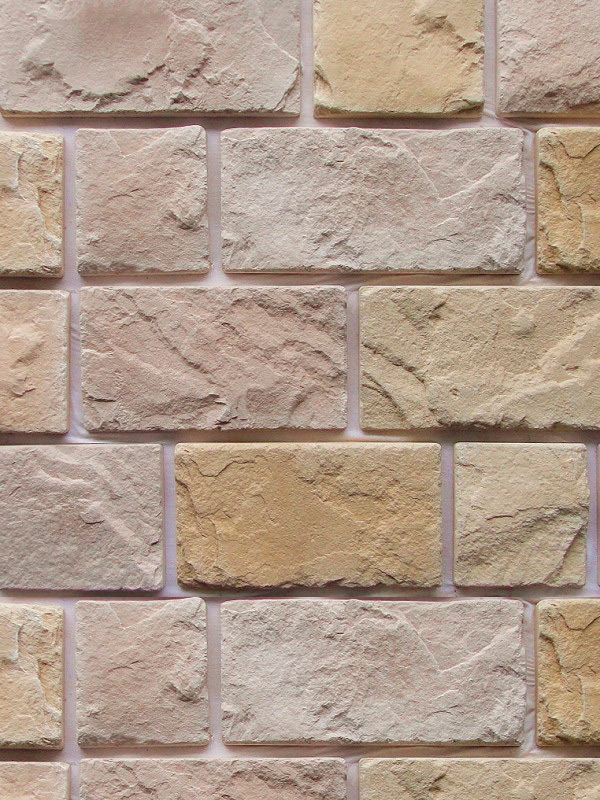 Искусственный камень Гранада Mix 520-10 + 520-20