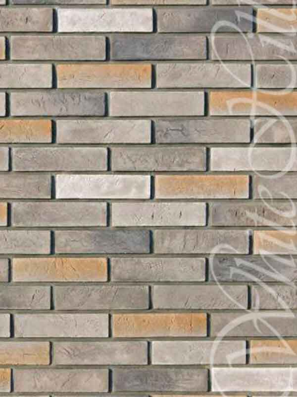 Декоративная плитка Терамо Брик 350-80