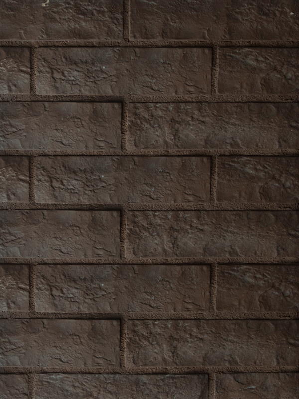 Декоративная плитка Римский камень 0504a