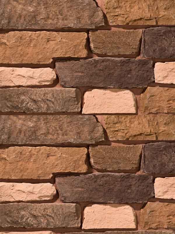 Искусственный камень Выветренная скала 2