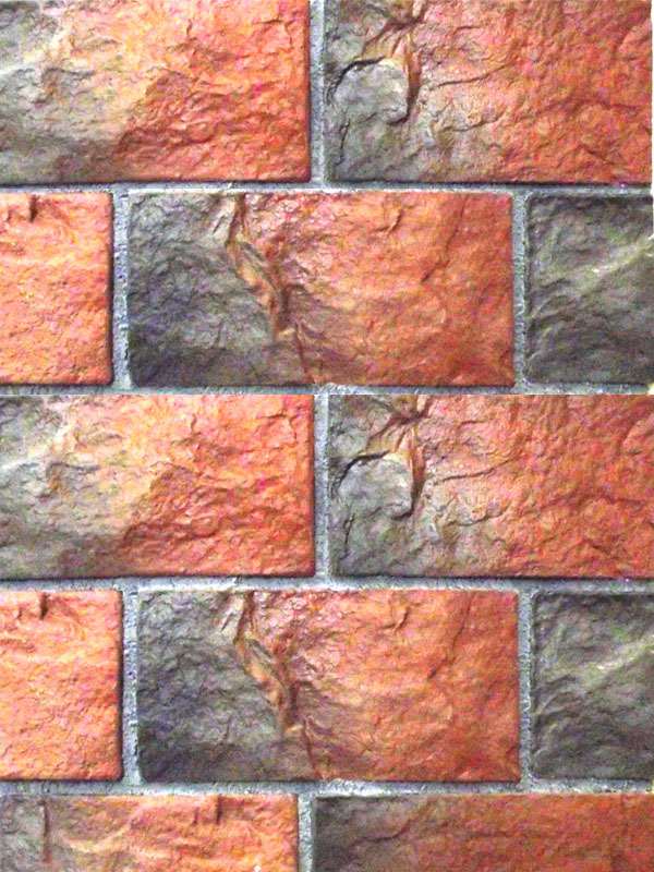 Декоративный кирпич старинный камень 0800