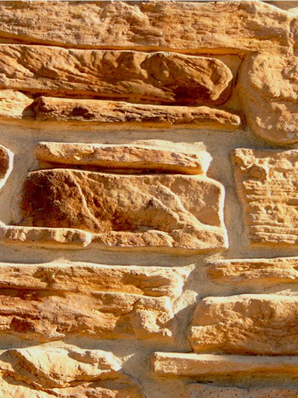 Декоративный камень Альпийская деревня 04