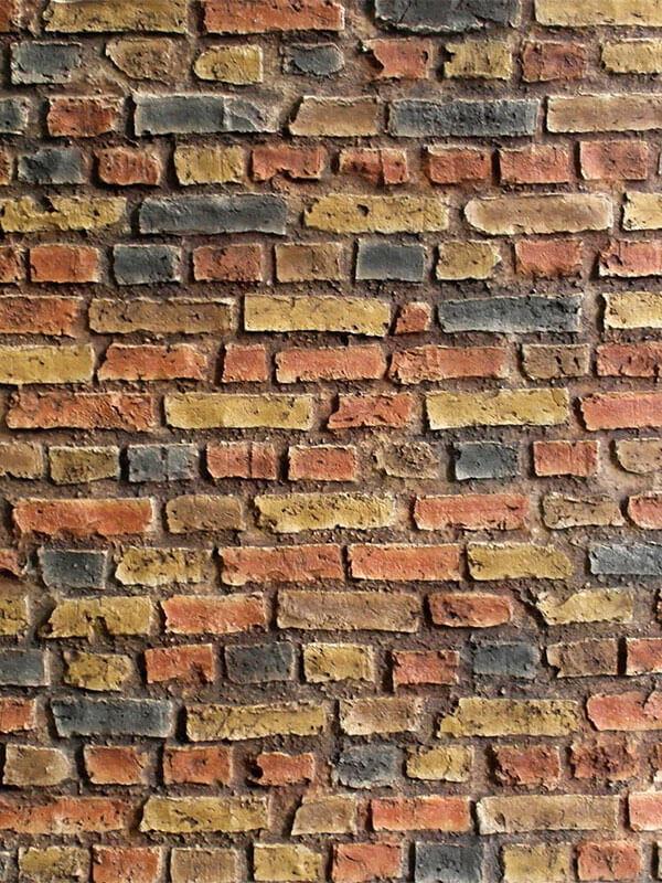 Стеновая панель под кирпич Loft Brick Dark Multicolor