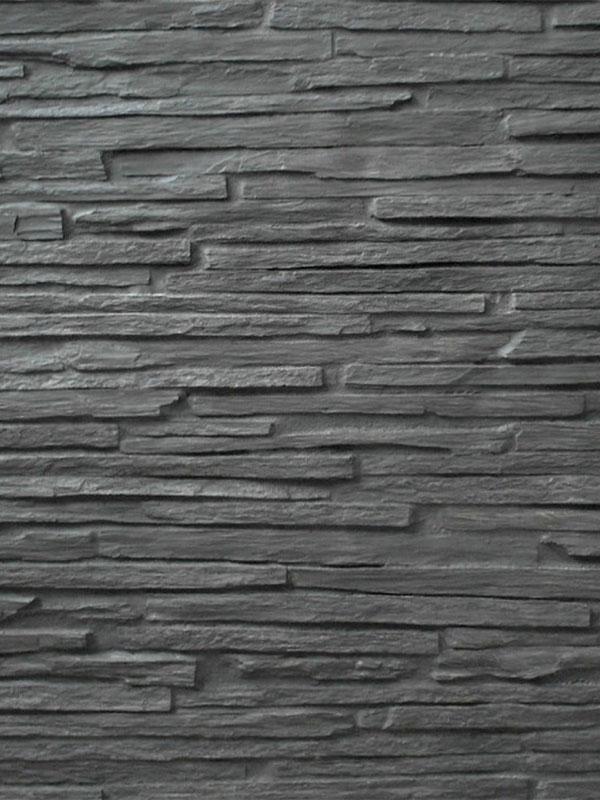 Стеновая панель под камень Cabrera Black