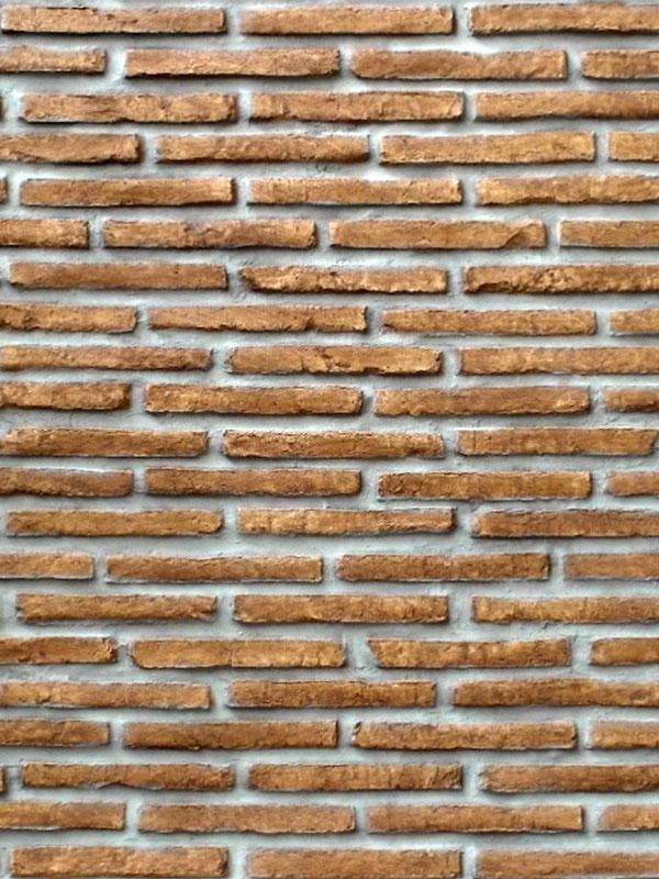 Стеновая панель под кирпич Old Brick Marron