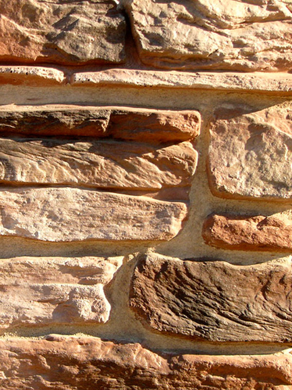 Искусственный камень Альпийская деревня 03