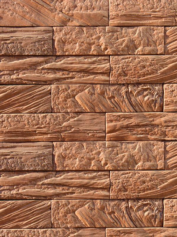 Декоративная плитка Древесный кирпич 06