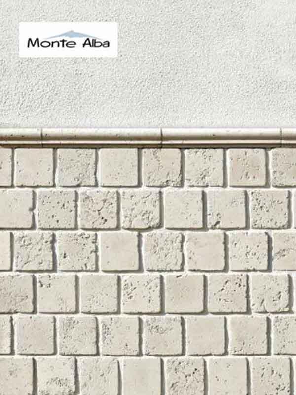 Гипсовая декоративная плитка Тоскана A565-00+A565-01
