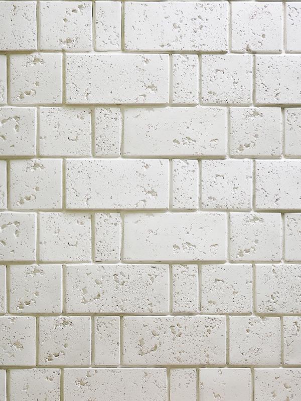 Декоративный камень Травертин Белый