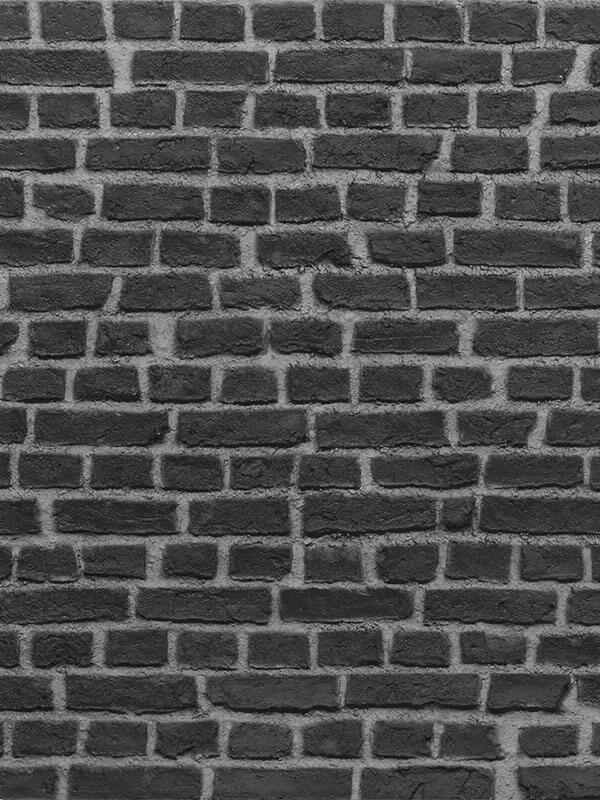 Стеновая панель под кирпич Loft Brick Black