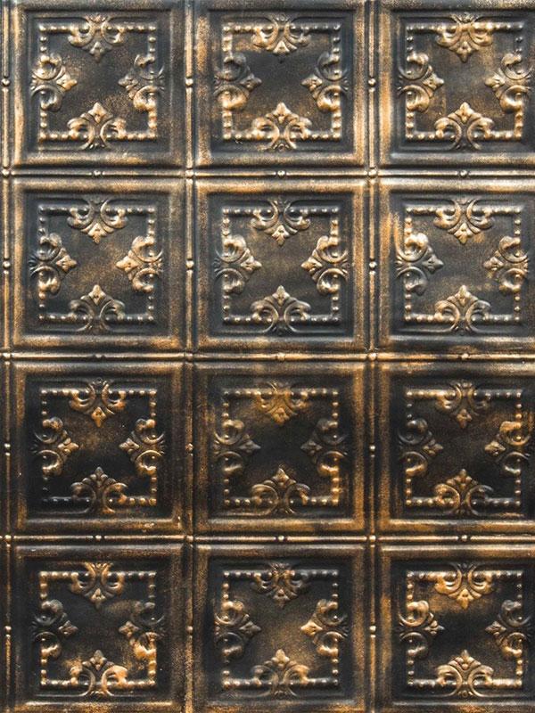 Стеновая панель под плитку Giglio Bronze Black