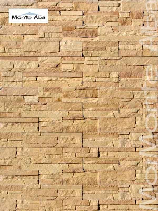 Гипсовая декоративная плитка Монтебелло А201-20