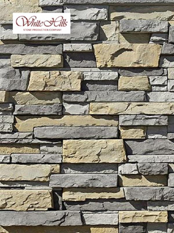 Декоративный камень Уайт Клиффс 150-80