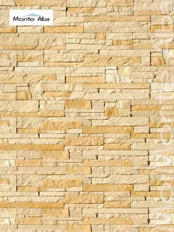 Гипсовая декоративная плитка Монтебелло А200-10