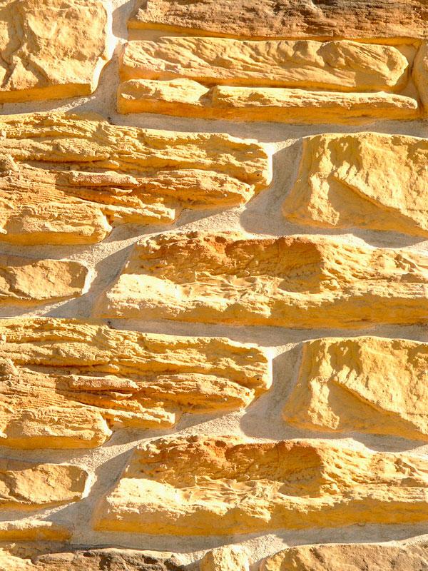 Искусственный камень Альпийская деревня 07