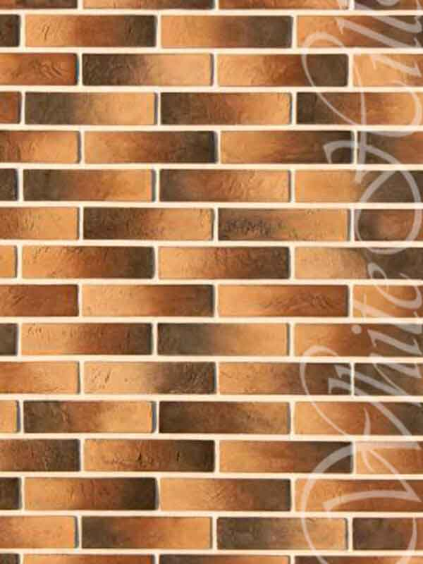 Декоративная плитка Терамо Брик 353-40