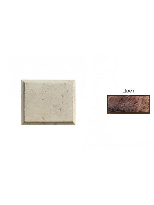 Рустовый камень White Hills 852-40 коричневый, 300*250*21-40 мм
