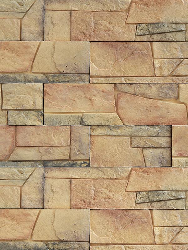 Декоративный камень Безенгийская стена 1-06-52