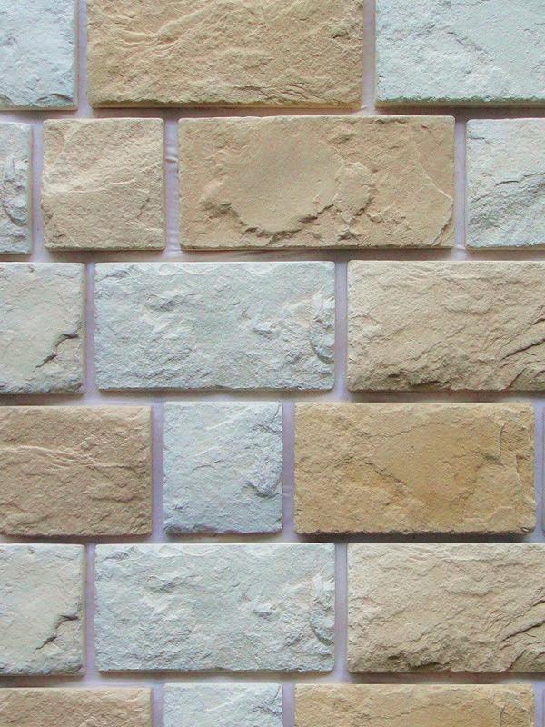 Искусственный камень Гранада Mix 520-00 + 520-20