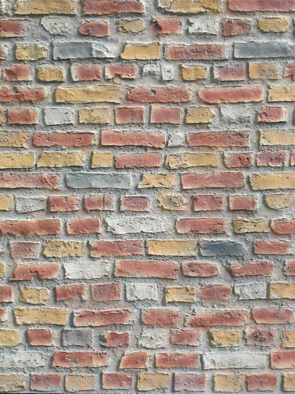 Стеновая панель под кирпич Loft Brick Multicolor