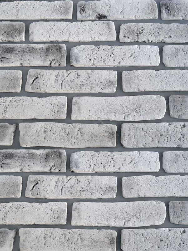 Гипсовая плитка под кирпич Монастырский Белая скала