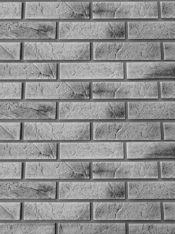 Гипсовая плитка под кирпич Старый Скала