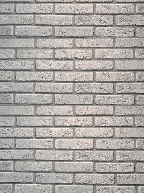 Гипсовая плитка под кирпич Антик Белая скала