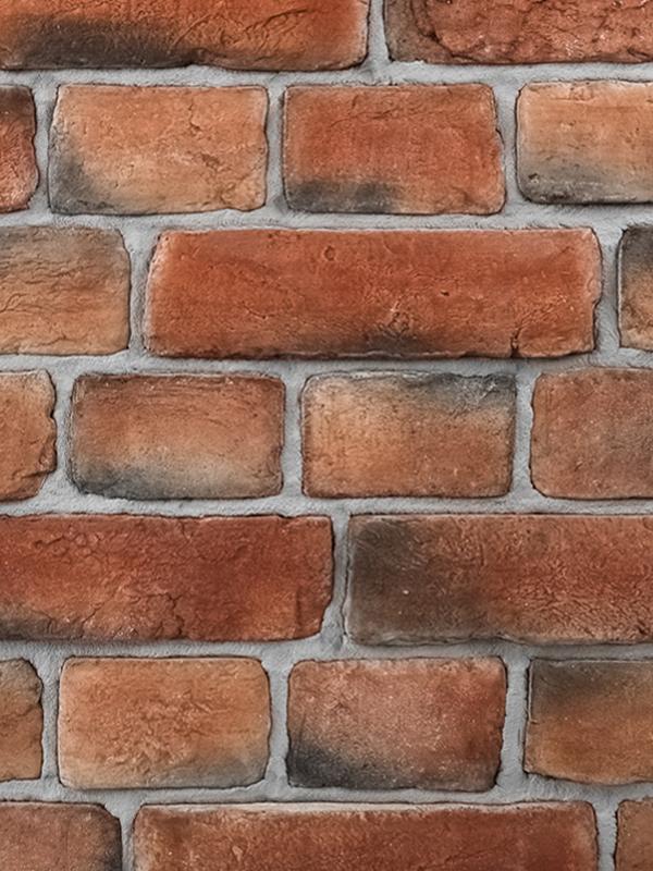 Декоративный кирпич в стиле Loft Red Brick