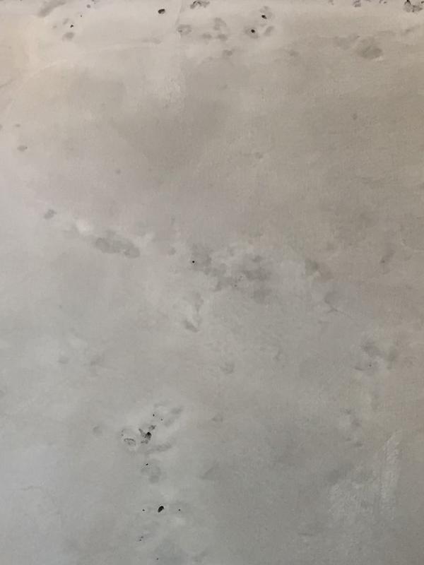 Декоративная панель под бетон (серая)