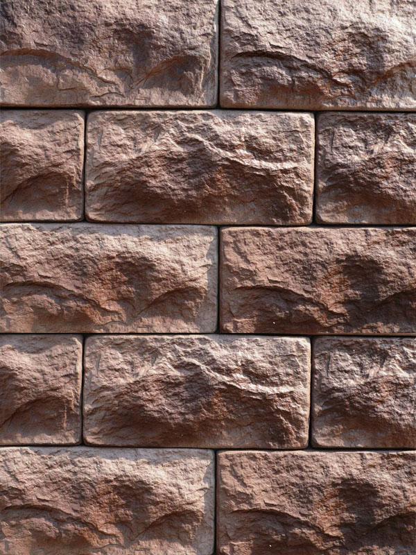 Декоративный кирпич старинный камень 0805