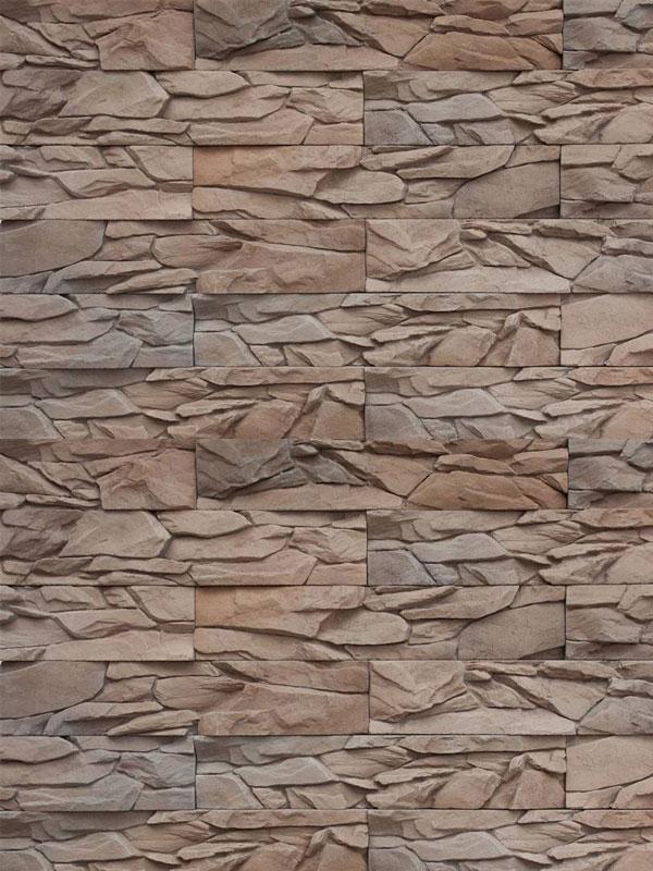Искусственный камень Угольный пласт 018