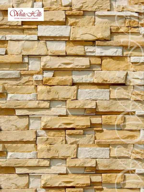 Декоративный камень Уайт Клиффс 150-10