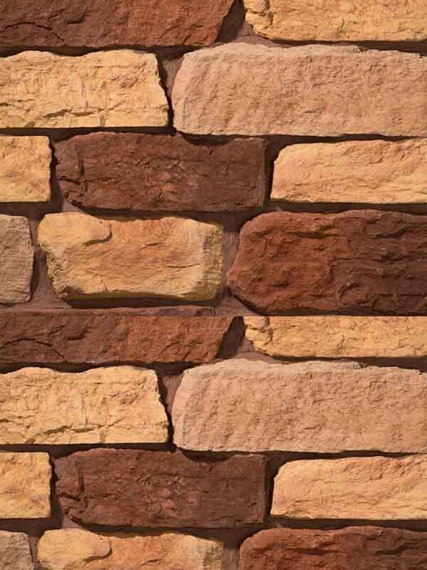Искусственный камень Выветренная скала 1